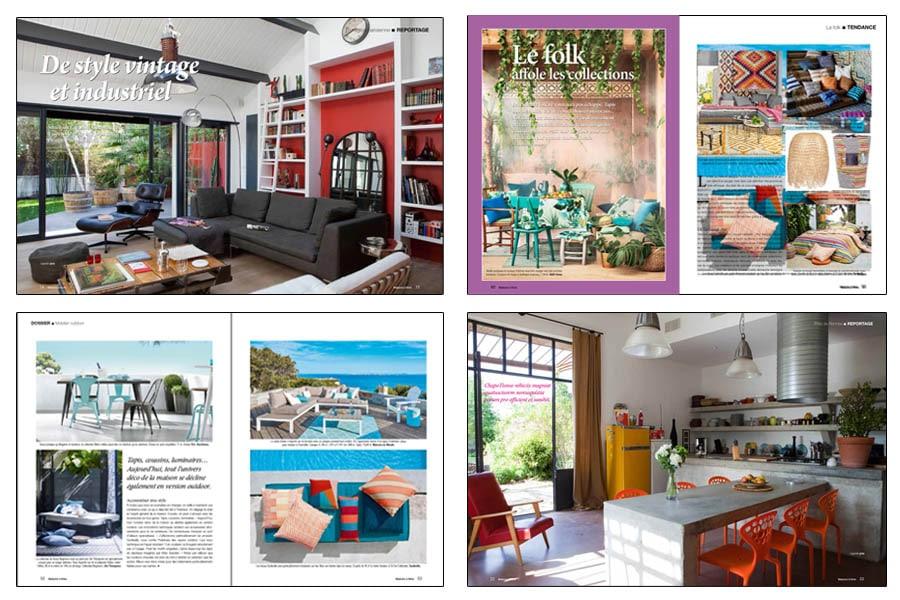 Maisons vivre magazine cppresse charles philippe presse for Architecture a vivre magazine